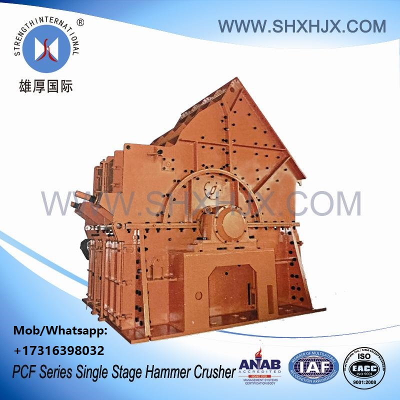 Single Stage Hammer Crusher For Shale