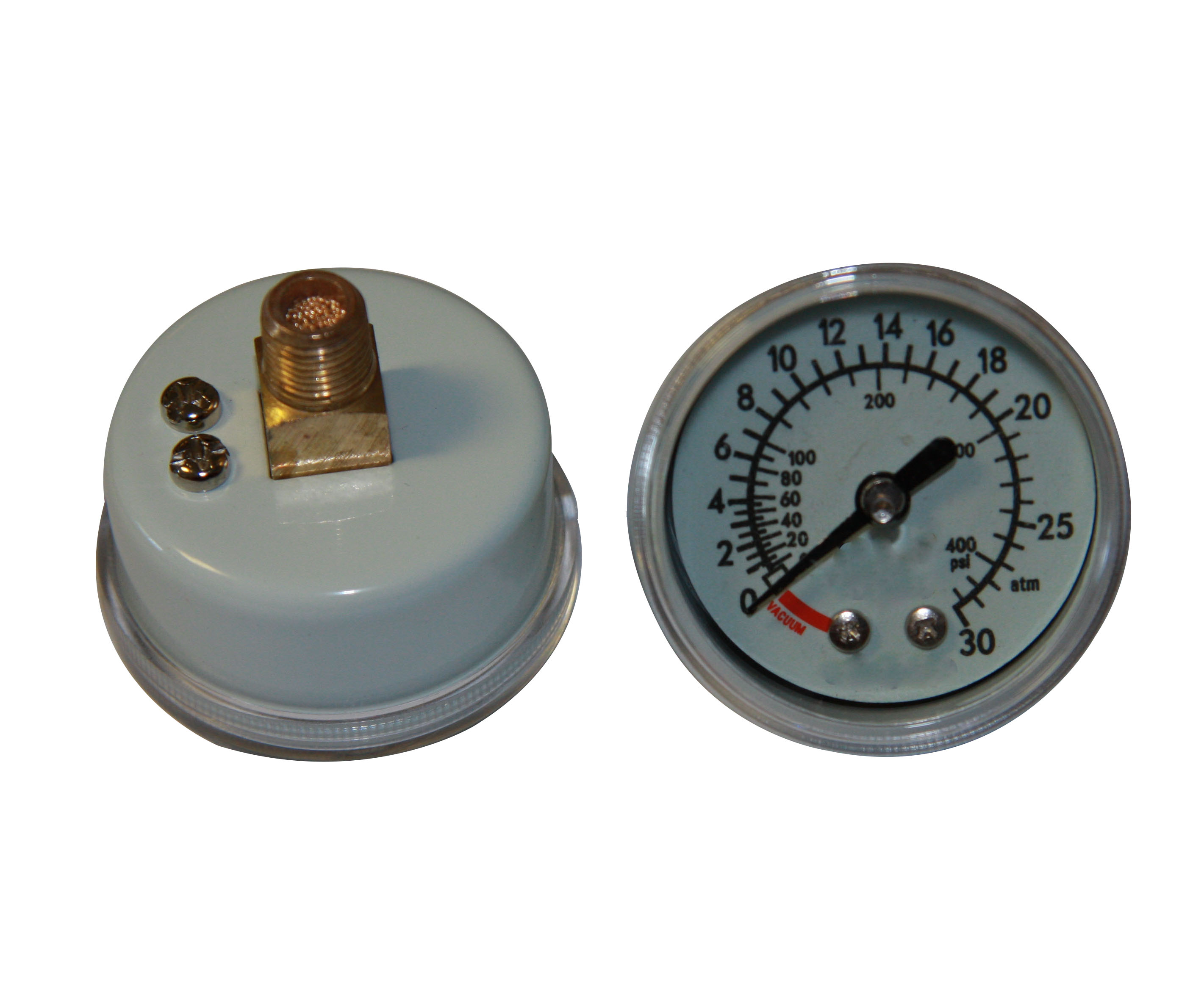 30atm steel case medical pressure gauge inflation
