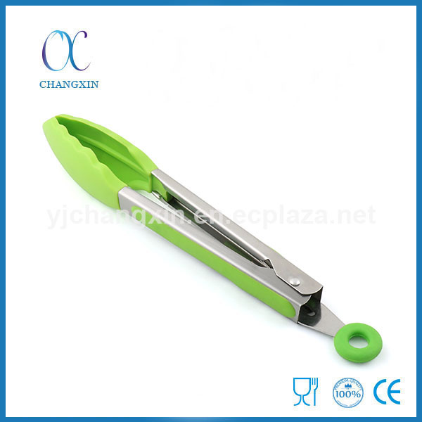 Best Selling Utensil Tongs Non-stick 9 Inch Silicone Ghd Welding Tong