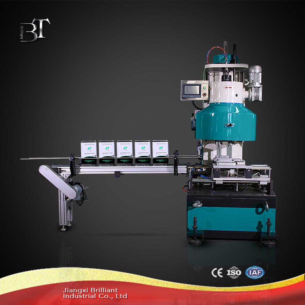 1-5L square tin can sealing machine