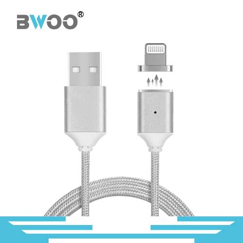 Micro/8 Pin USB Magnetic Data Adapter Cable for Smartphone