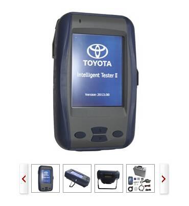 Toyota IT2 V2014.4 Intelligent Tester2 With Suzuki