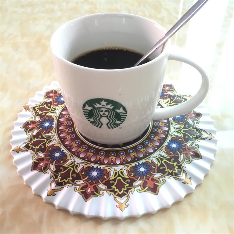 silicon drink place mat, cup coaster,