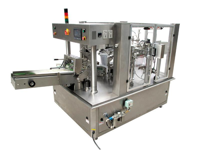 Automatic Weighing Premade Zipper Bag Rotary Packing Machine