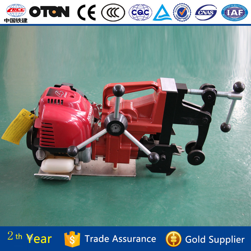 High performance portable Honda engine rail drilling machine