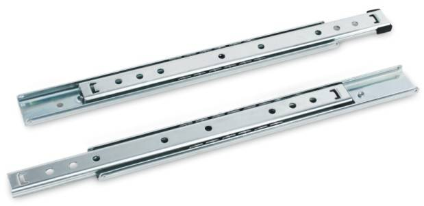 2703 Disconnectable Ball Bearing Slides, 1.2/1.2, 1.0/1.0mm Thickness