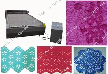 GR-1325 Large size carpet laser cutting engraving machine