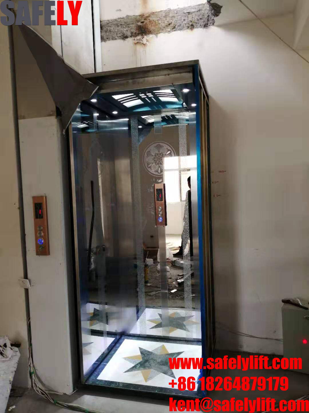 hydraulic home elevator from China Safely Lift