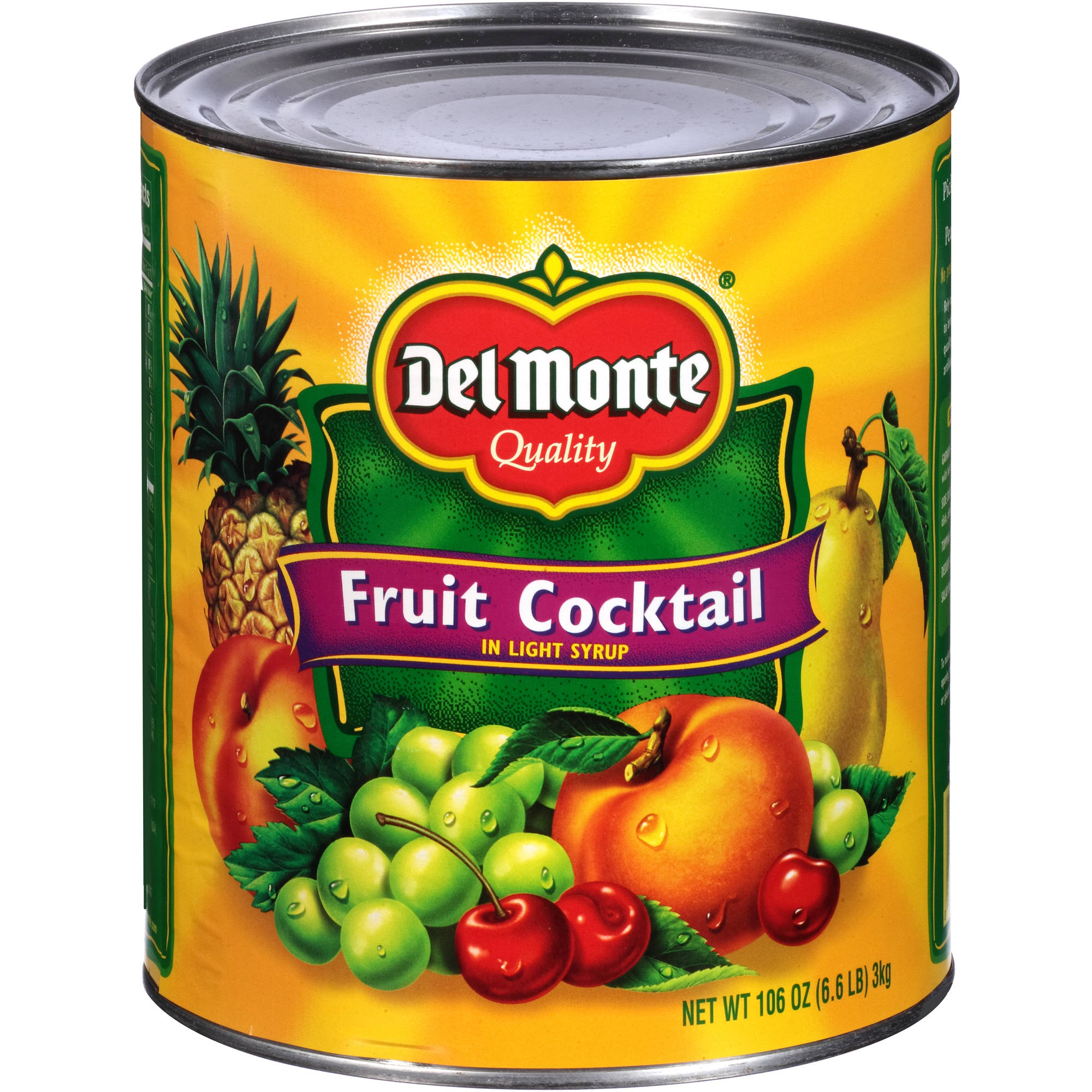 Canned mixed fruits cocktail