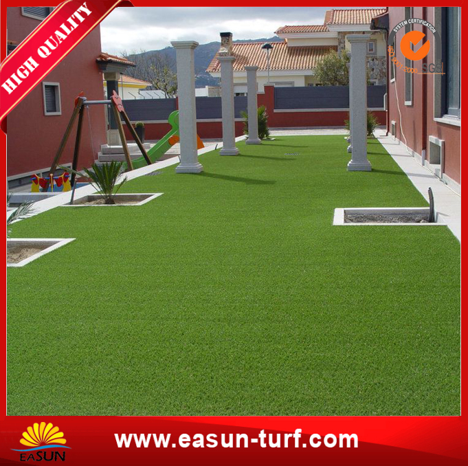 Manufacturer supply lawn fake garden turf and synthetic grass decor- ML