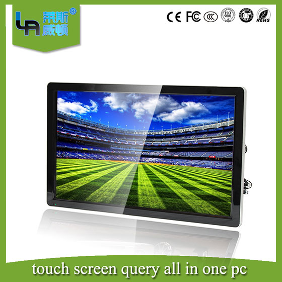 LASVD 60 inch wall mounting/multi computer touch screen monitor all-in-one pc for Classroom