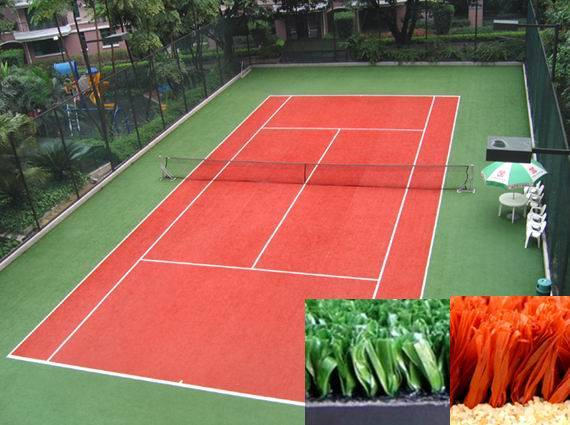 artificial turf for tennis