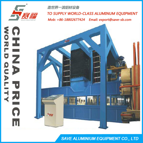 Aluminium Extrusion Profile Air Quenching And Medium Cooling System