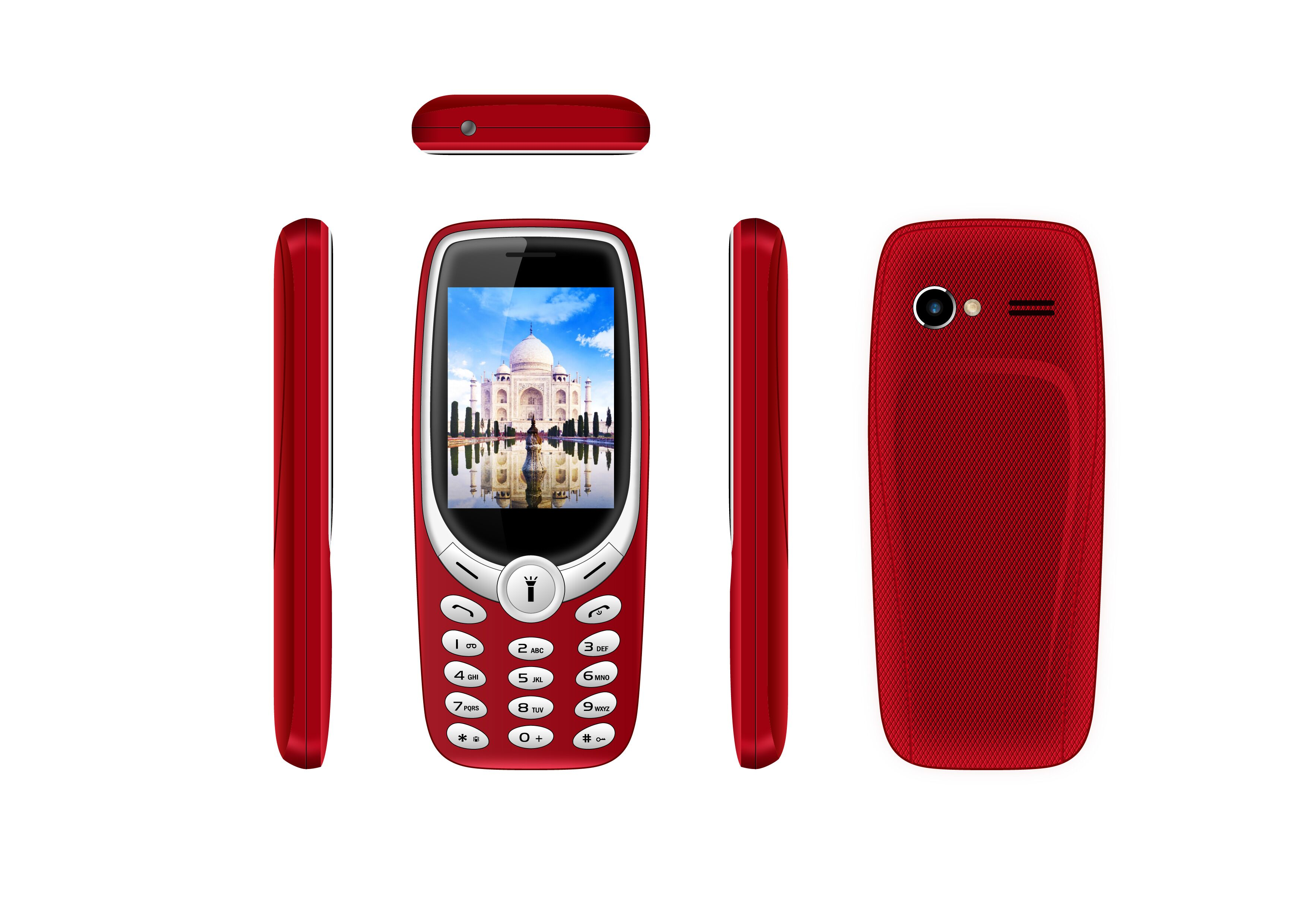 3G feature phone with 0.08MP HD camera and BL-5C 800mAh battery with factory price