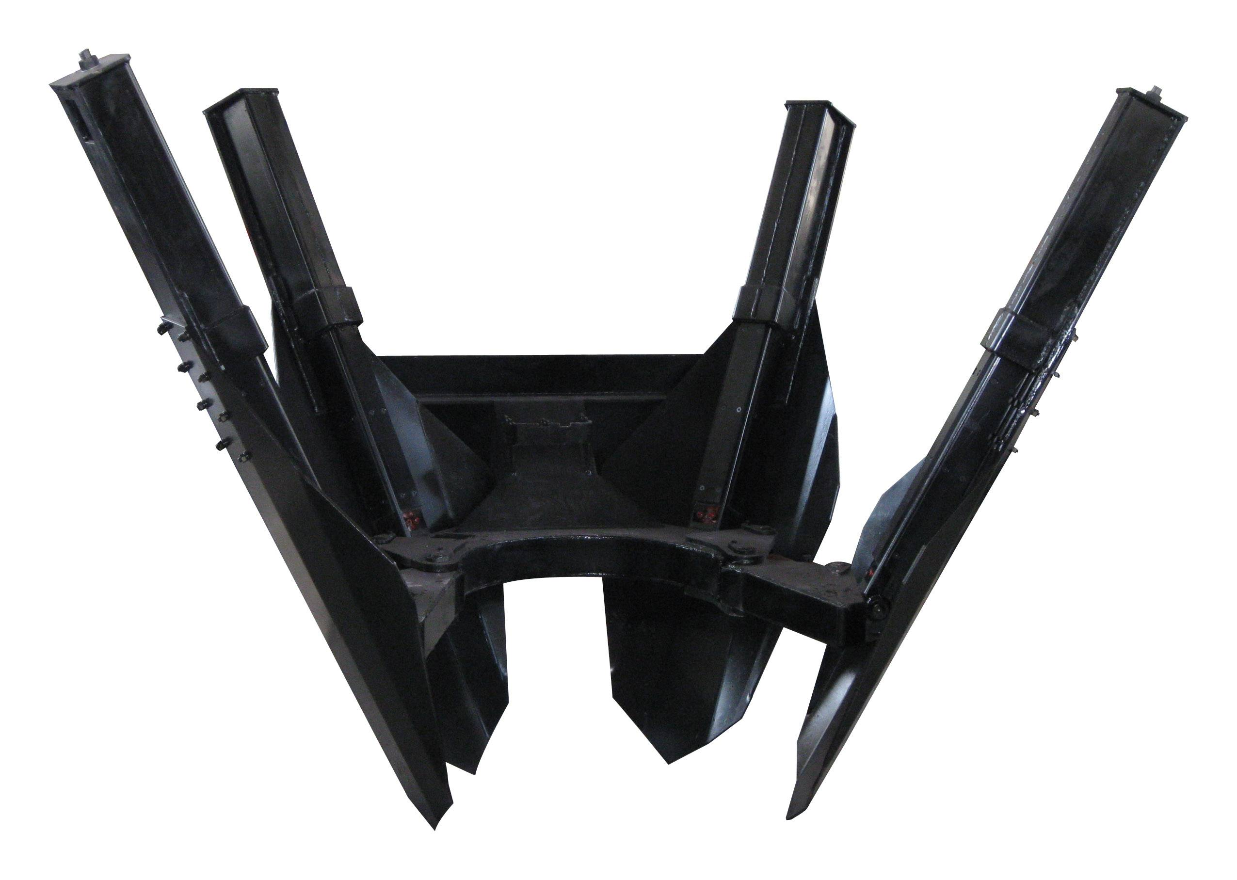 HCN 0503 series tree spade for skid steer loader