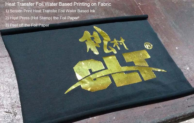 Heat Transfer Foil Garment Screen Printing Water Based Rubber Paste