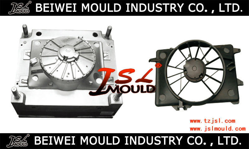 custom auto fan cover plastic mould