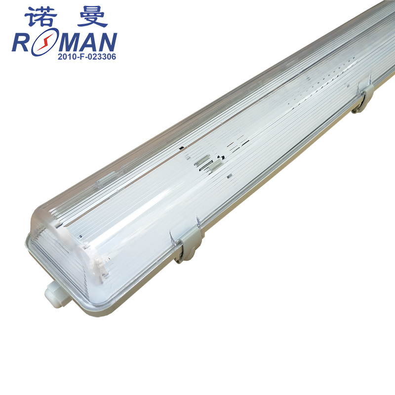 IP65 T8LED tube light fixtures 4ft double water proof LED lamp brackets