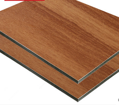 Kingaluc Wooden for wall decorative aluminum composite panel