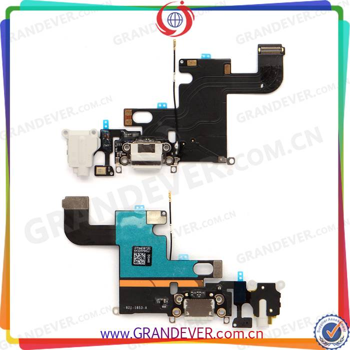 Original For iPhone 6 4.7 inch Grey USB Charger Port Connector Flex Cable Factory Price