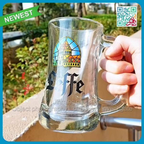 Large capacity beer steins with handle