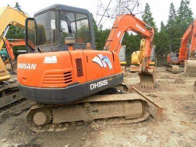 Used Daewoo DH55-7 Excavator