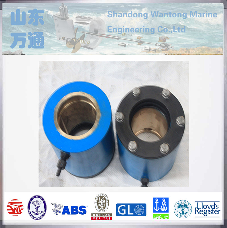 marine application / stainless steel lower rudder bearing