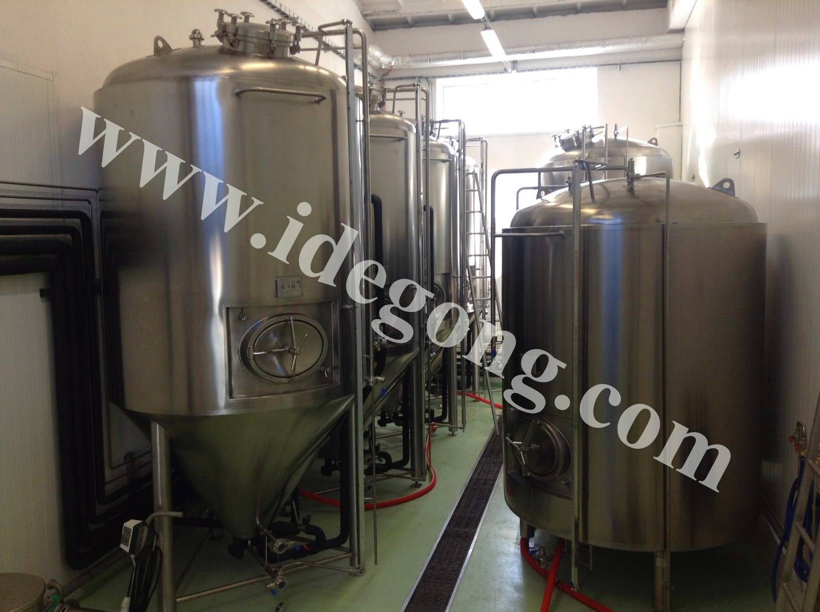 1000L lager production machinery line