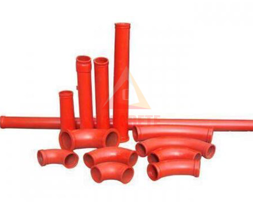 Concrete Pump Elbows Reducer Pipes Bends for Putzmeister,SCHWING,ZOOMLION,SANY,XCMG,CIFA,IHI,Kyokuto