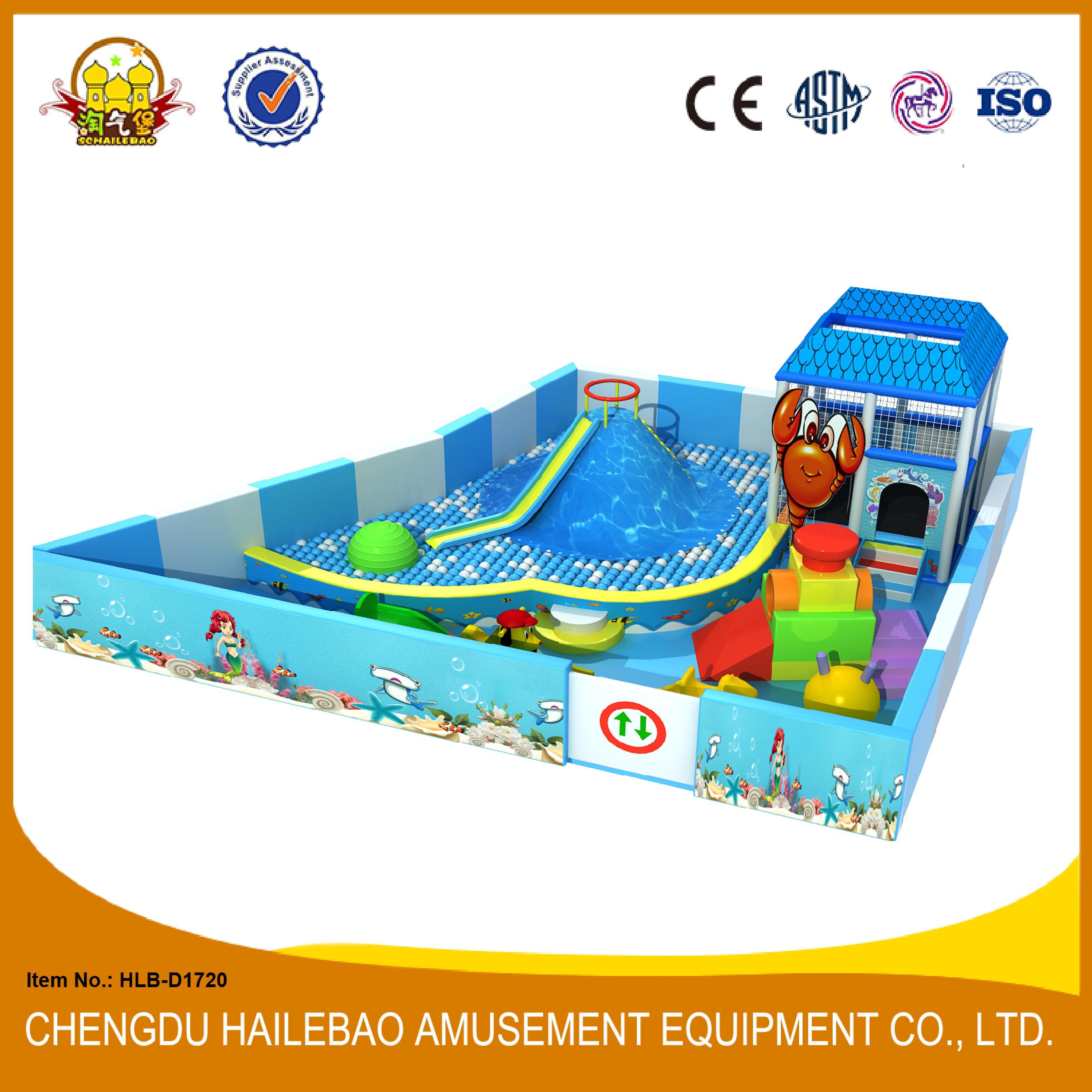 HLB-D1720 Amazing Volcano Kids Indoor Play Structure