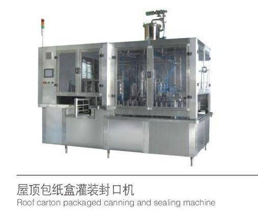 Root Carton Packaged Canning and Sealing Machine