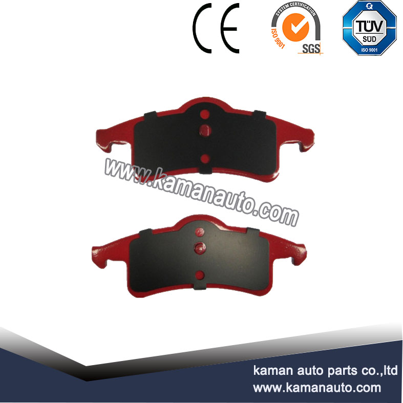 Front ceramic brake pads for Japanese car