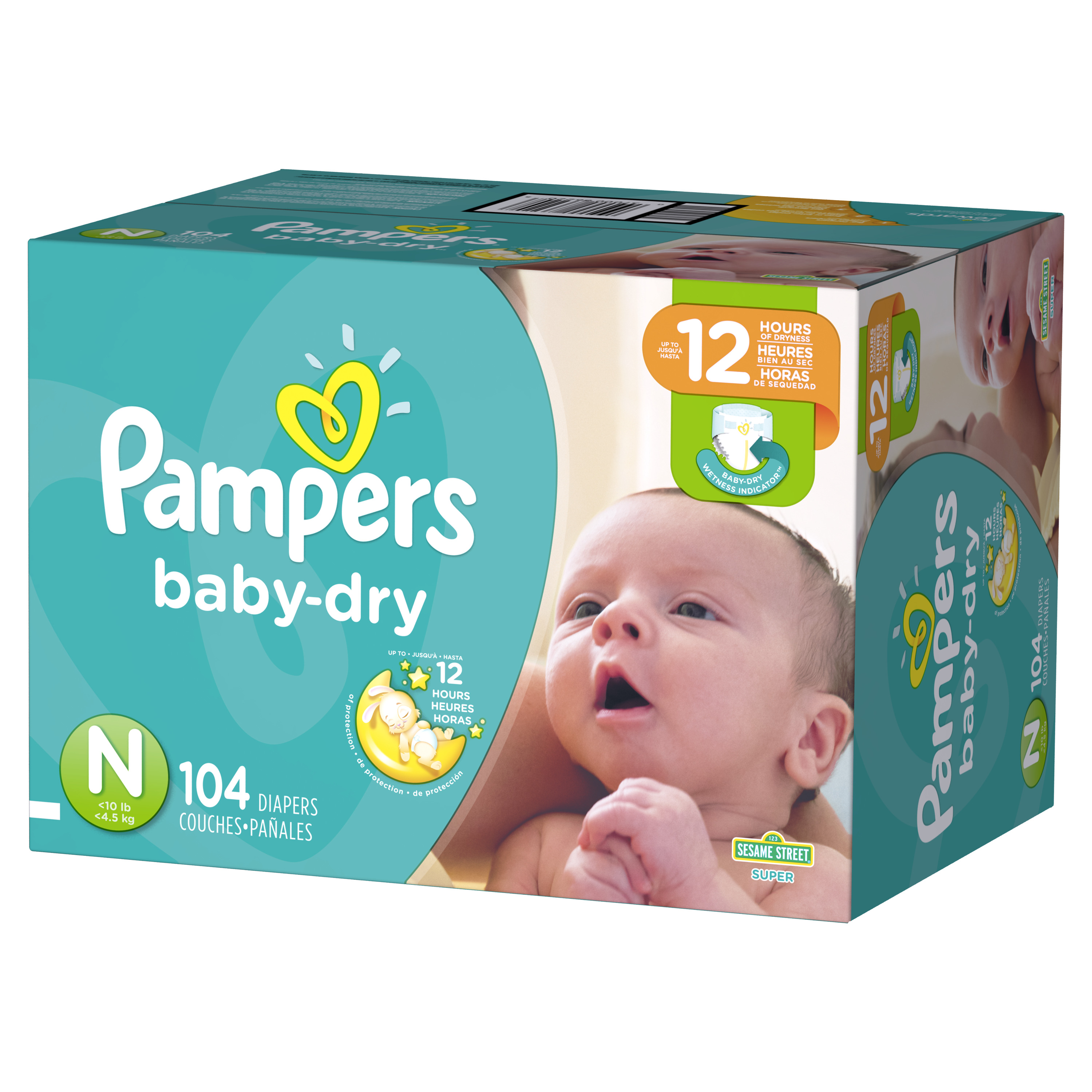 2019 Disposable Baby Diapers