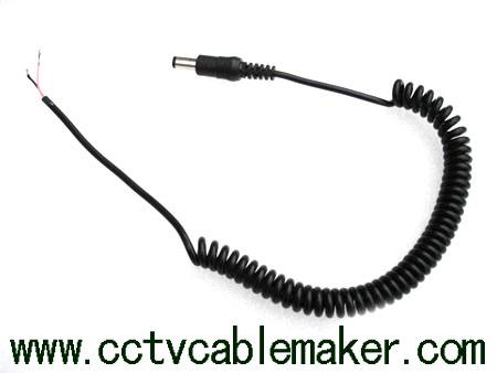 DC coiled cable, Power cord, Power cable