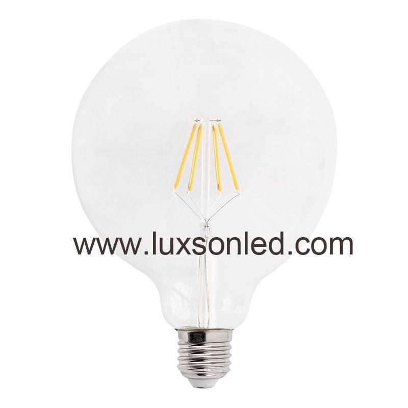 LED Bulb G125 4W 5W 6W 8W LED Lamp LED Light Filament Bulb