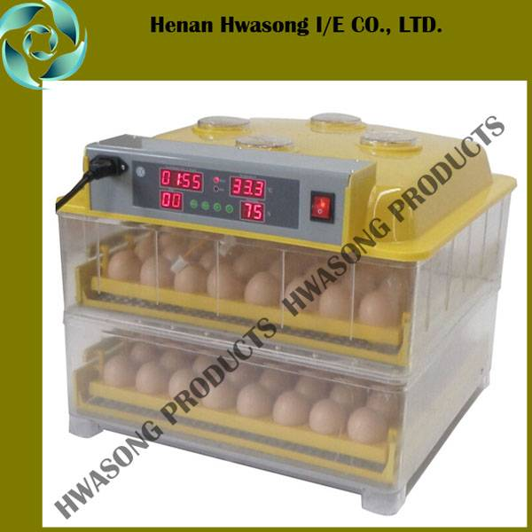 Household Automatcic Small 96 Eggs Hatching Incubator for Multipurpose