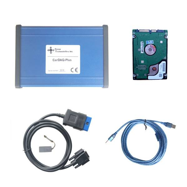 CarDAQ Plus With Benz Software Passthru J2534 Diagnostic and Reprogramming Tool