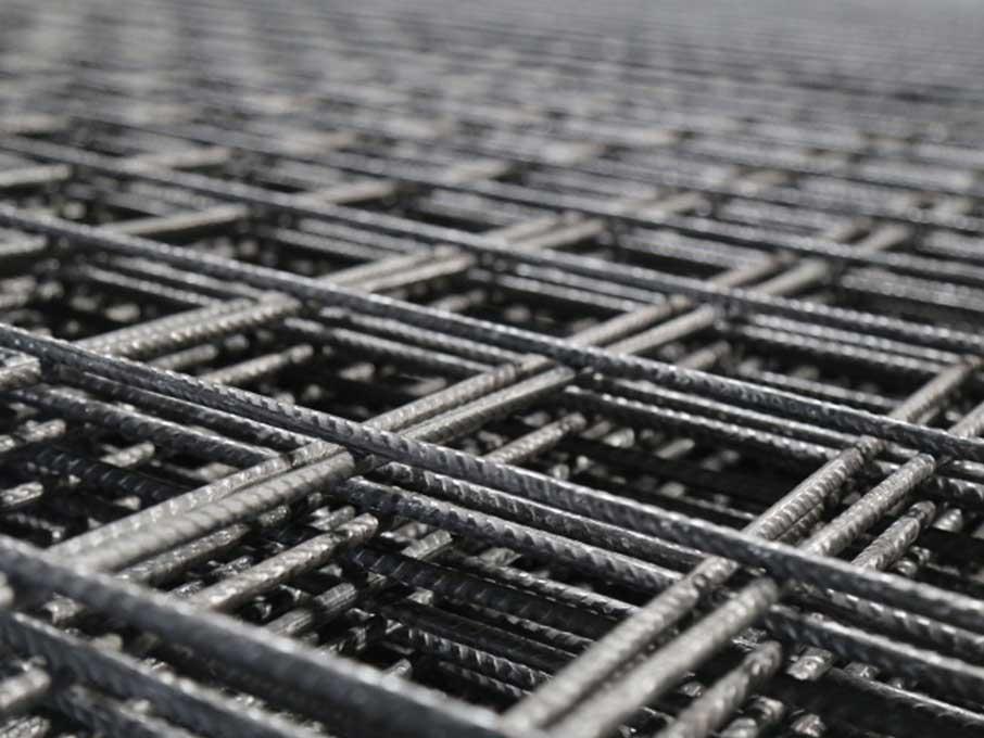 AQ46 / AQ50 / AQ55 / AQ60 / AQ65 / AQ70 / AQ76 / AQ82 / AQ90 / AQ100 Threaded reinforcing steel mesh