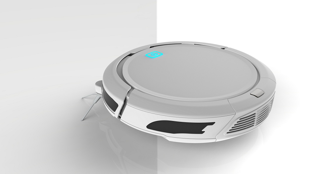 2017 Latest Smart robot Vacuum Cleaner with Auto Cleaning and Mapping Technology