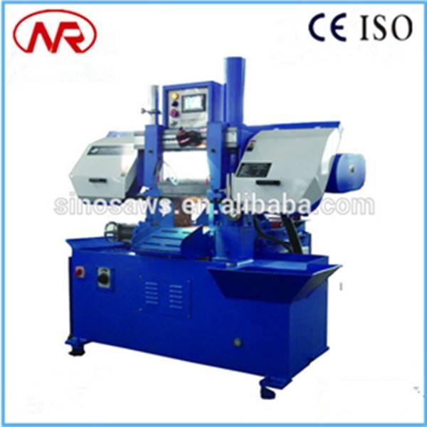 GS-260 autormatic cutting steel band saw hydraulic CNC band saw machine