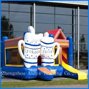 Inflatable Jump&Slide Combo