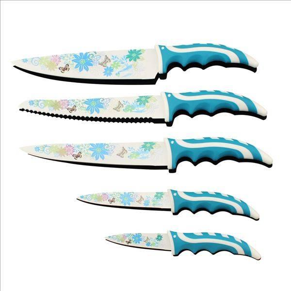 5pc kitchen knife