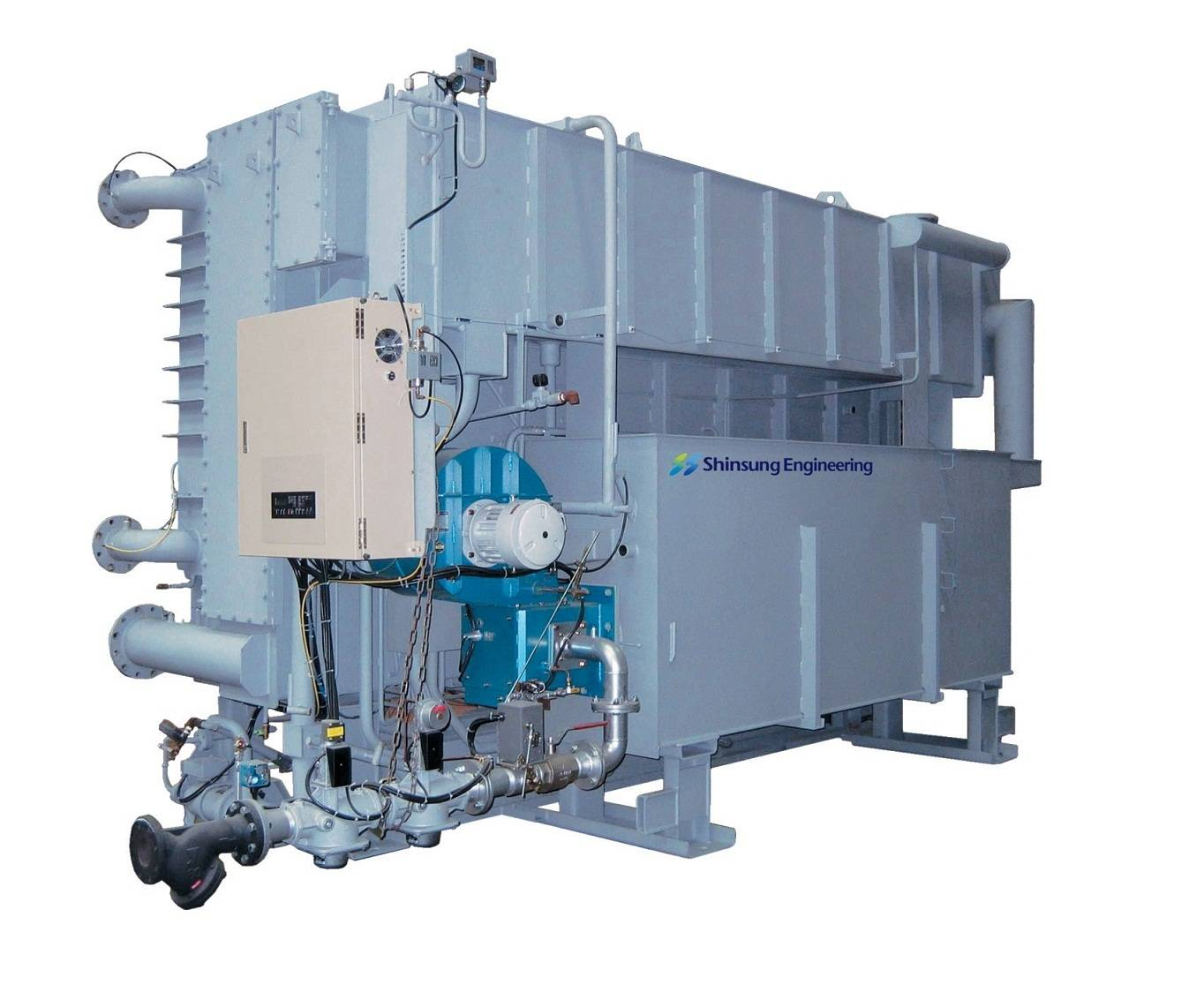 Direct Fired Absorption Chiller & Heater