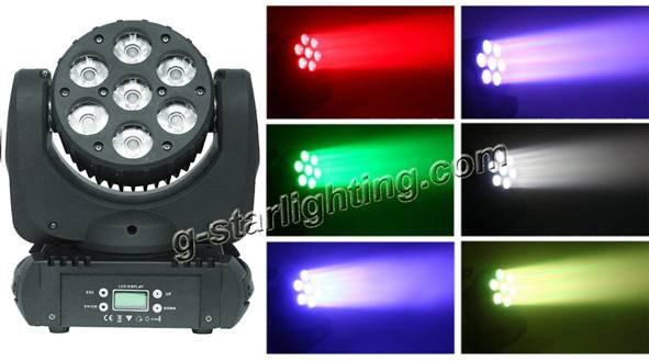 712W led moving head light