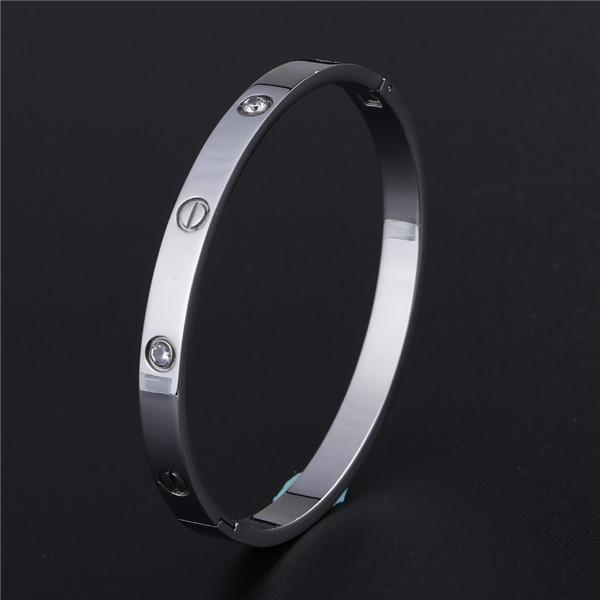 Classic Stainless Steel Bangle Bracelet Unisex/Women