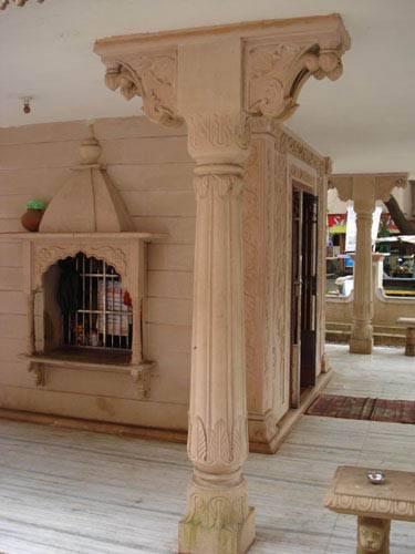 Stone Pillars & Stone Columns