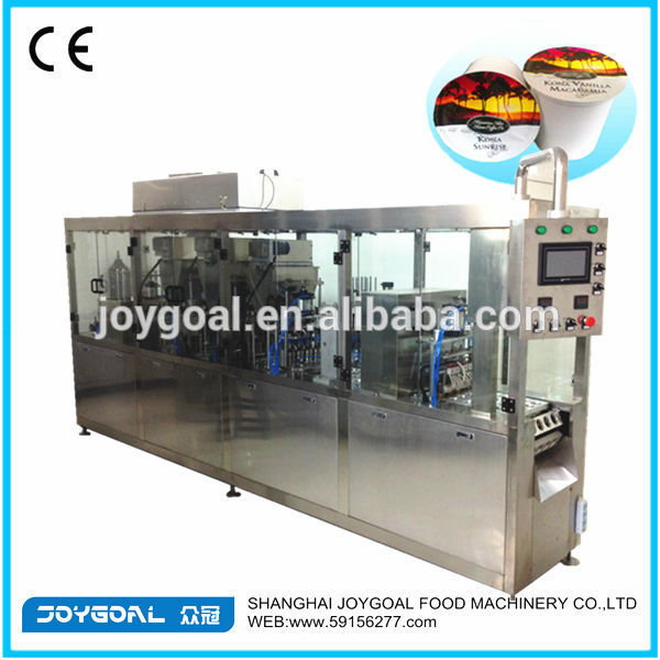 k cup filling Machine/k cup sealing machine/k cup filling and sealing machine
