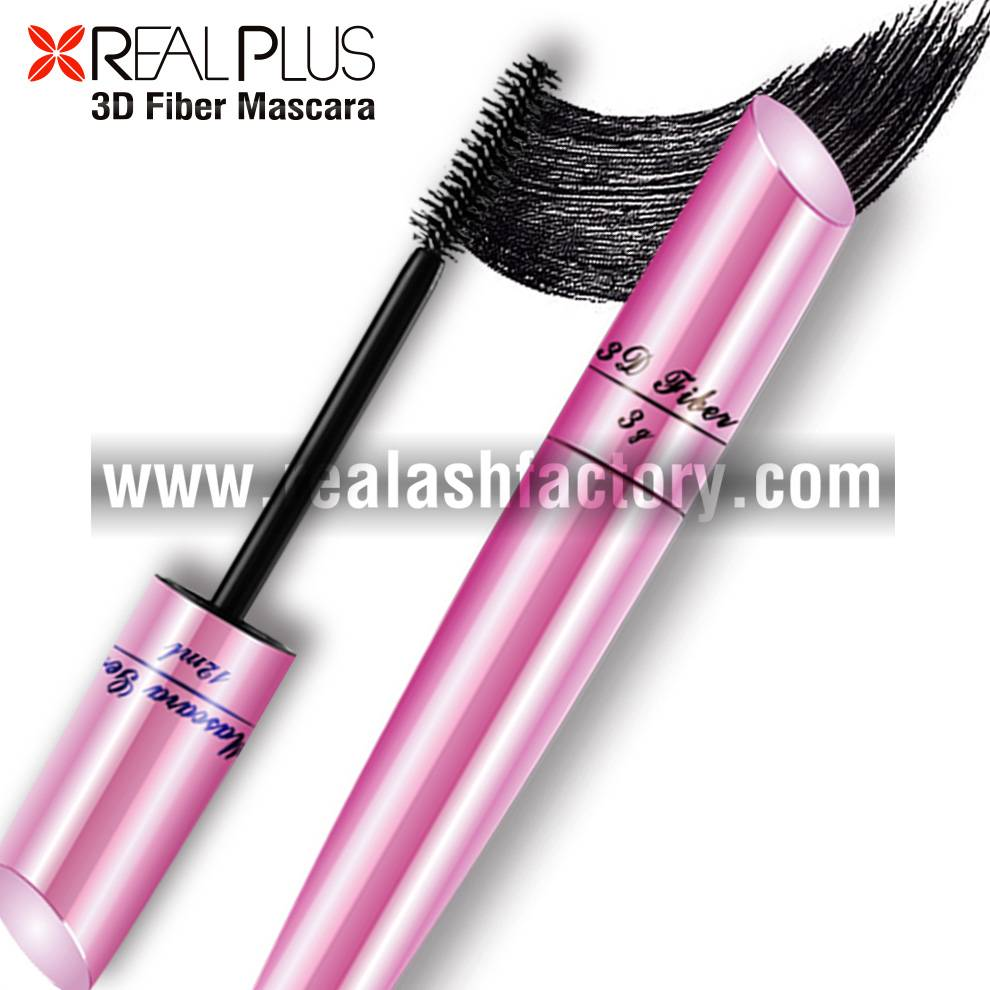 Latest arrival Professional Lengthening curling no clumpy 3d fiber lashes mascara