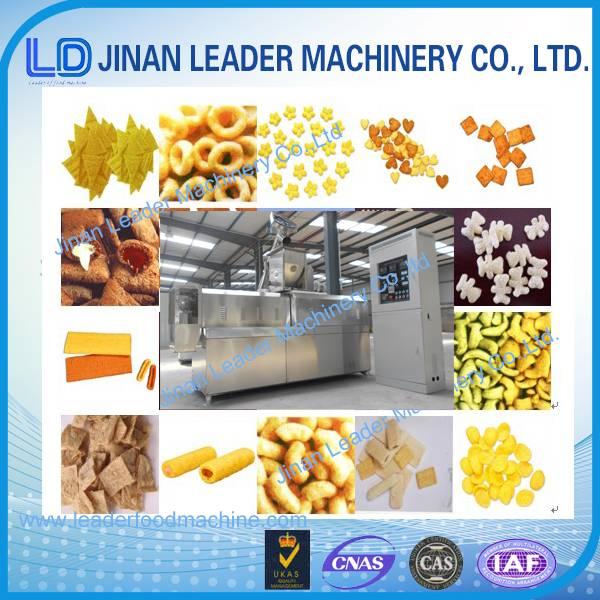 Automatic wheat corn rice puff making machine price