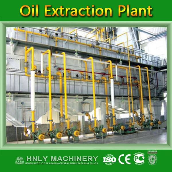 500Ton rice bran oil plant turnkey project by HNLY factory